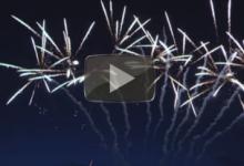 Weselne pokazy fajerwerków